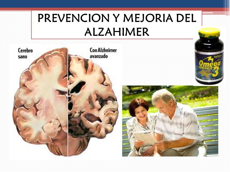 PREVENCION Y MEJORIA DEL ALZAHIMER