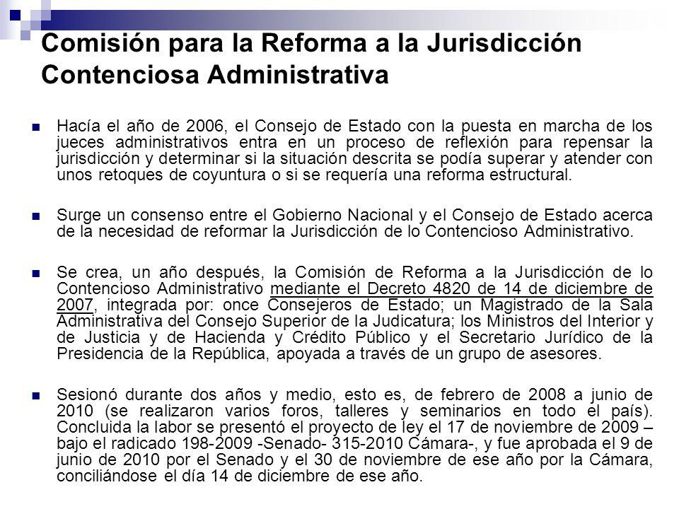 Comisión para la Reforma a la Jurisdicción Contenciosa Administrativa