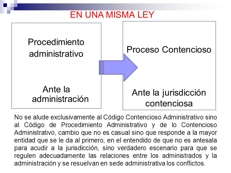 Ante la jurisdicción contenciosa