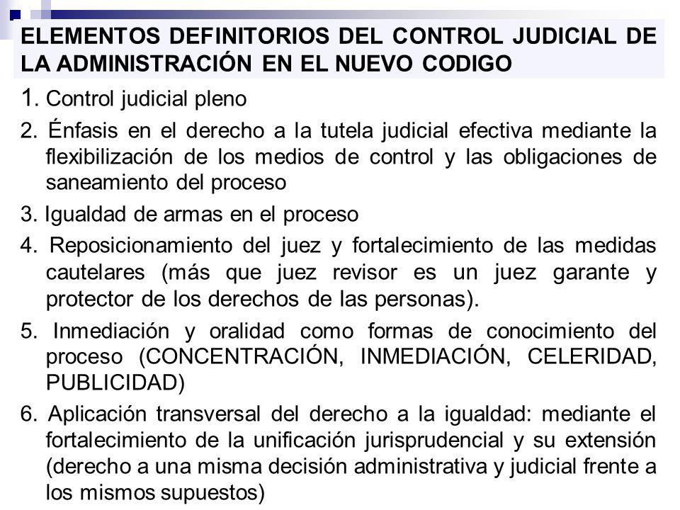 1. Control judicial pleno