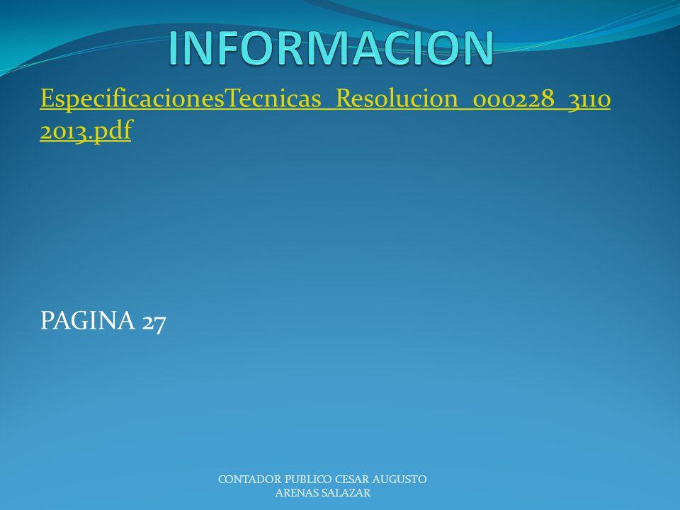 EspecificacionesTecnicas_Resolucion_000228_31102013.pdf PAGINA 27