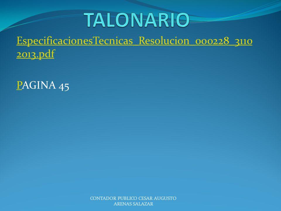 EspecificacionesTecnicas_Resolucion_000228_31102013.pdf PAGINA 45
