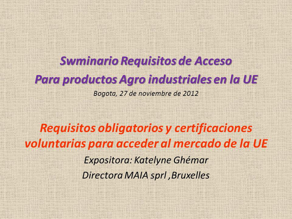 Swminario Requisitos de Acceso