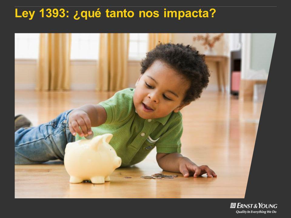 Ley 1393: ¿qué tanto nos impacta