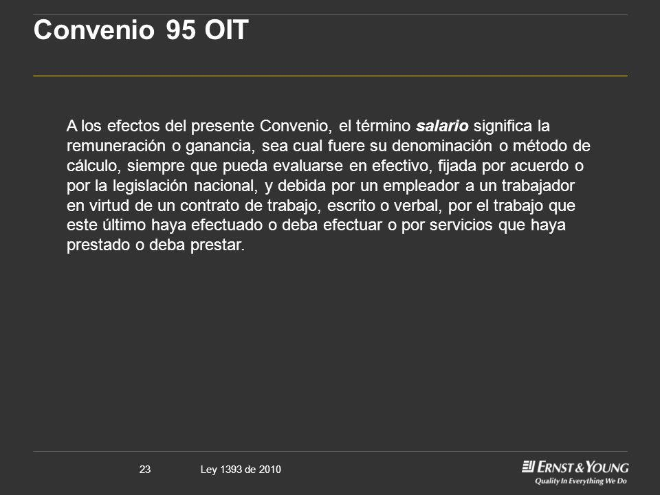 Convenio 95 OIT