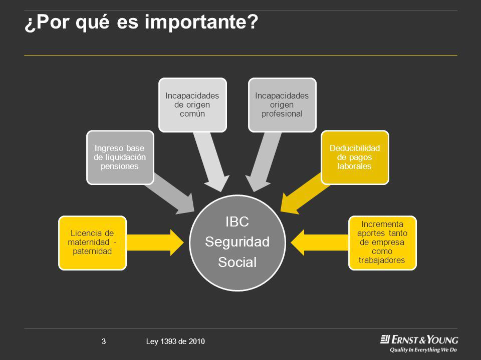 ¿Por qué es importante IBC Seguridad Social