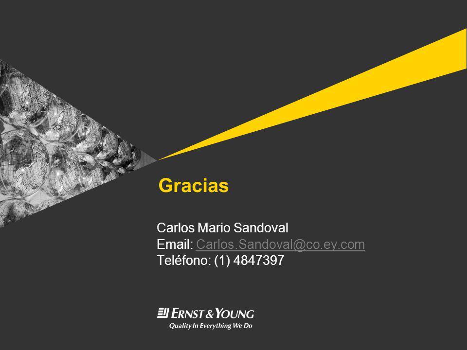 Gracias Carlos Mario Sandoval Email: Carlos.Sandoval@co.ey.com