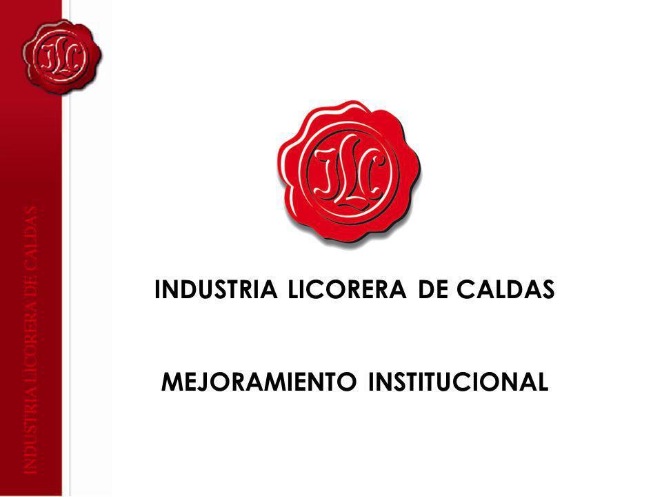 INDUSTRIA LICORERA DE CALDAS MEJORAMIENTO INSTITUCIONAL