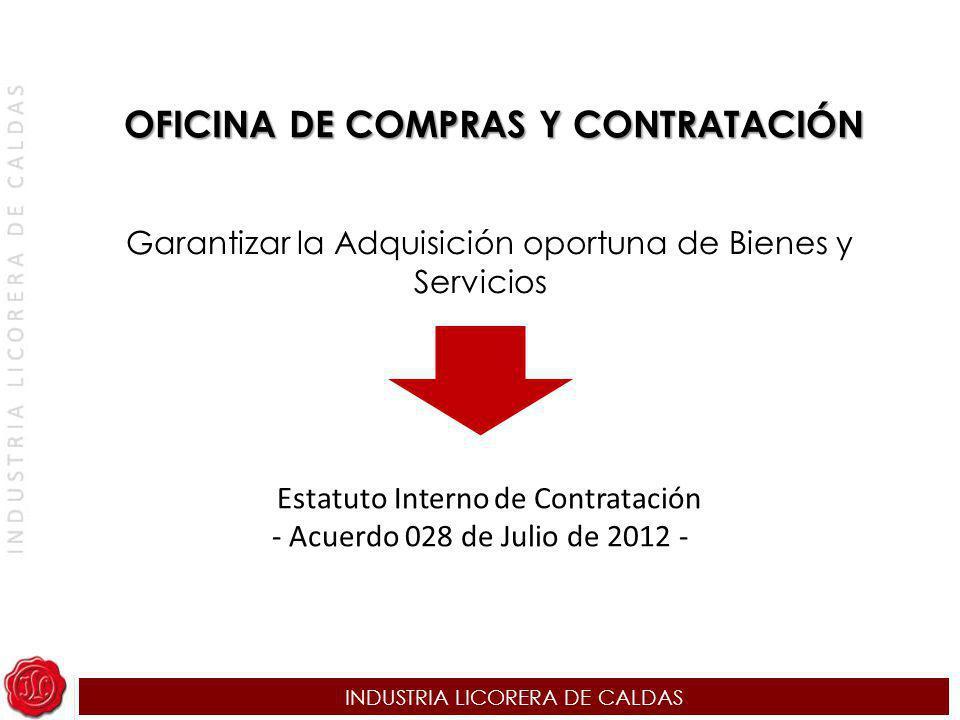 OFICINA DE COMPRAS Y CONTRATACIÓN