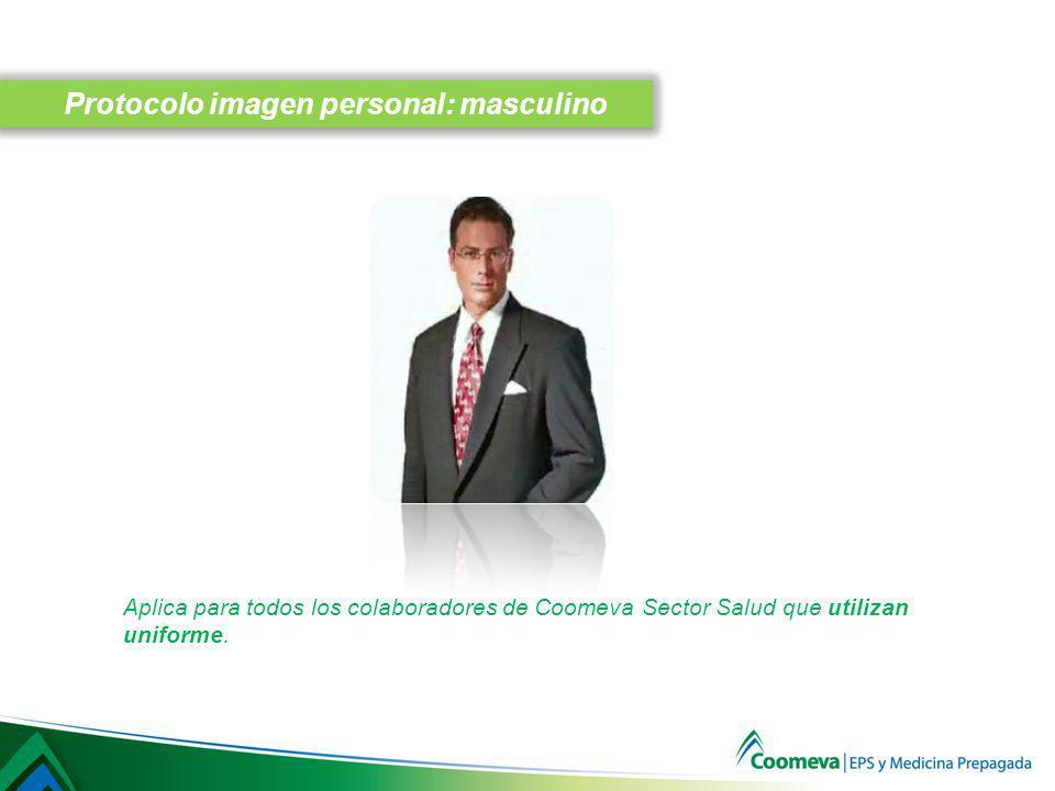 Protocolo imagen personal: masculino
