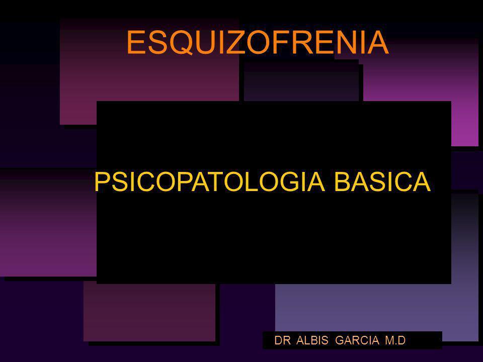 PSICOPATOLOGIA BASICA