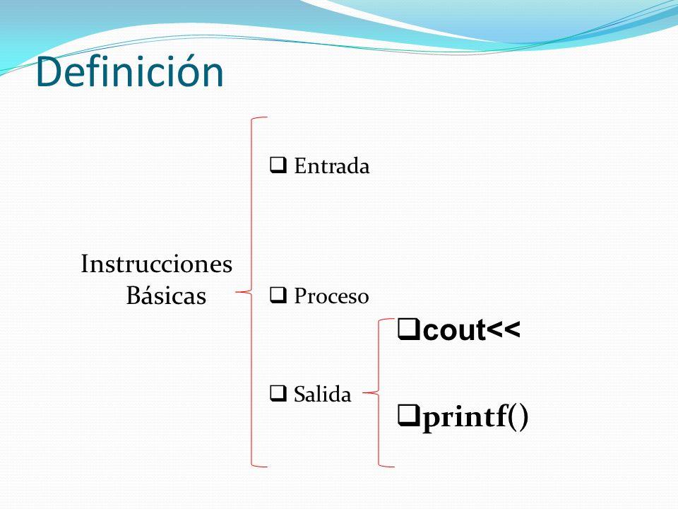 Instrucciones Básicas