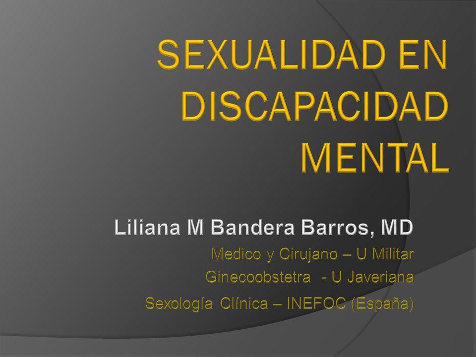 Sexualidad en Discapacidad mental