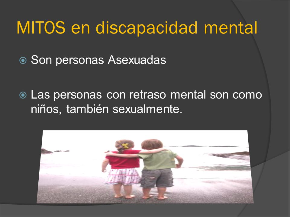 MITOS en discapacidad mental