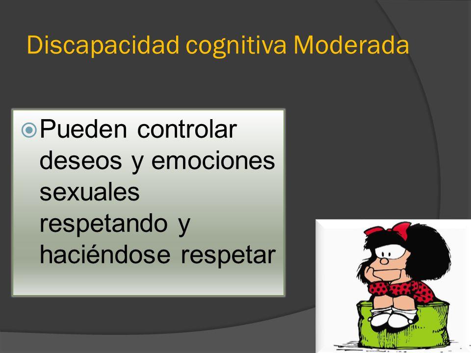 Discapacidad cognitiva Moderada