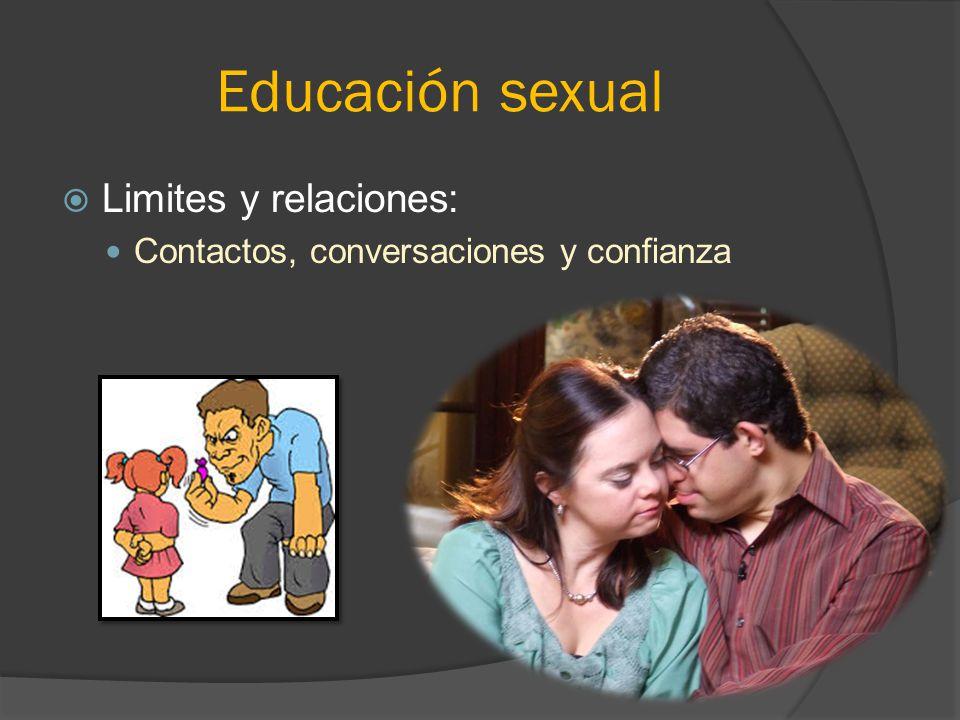 Educación sexual Limites y relaciones: