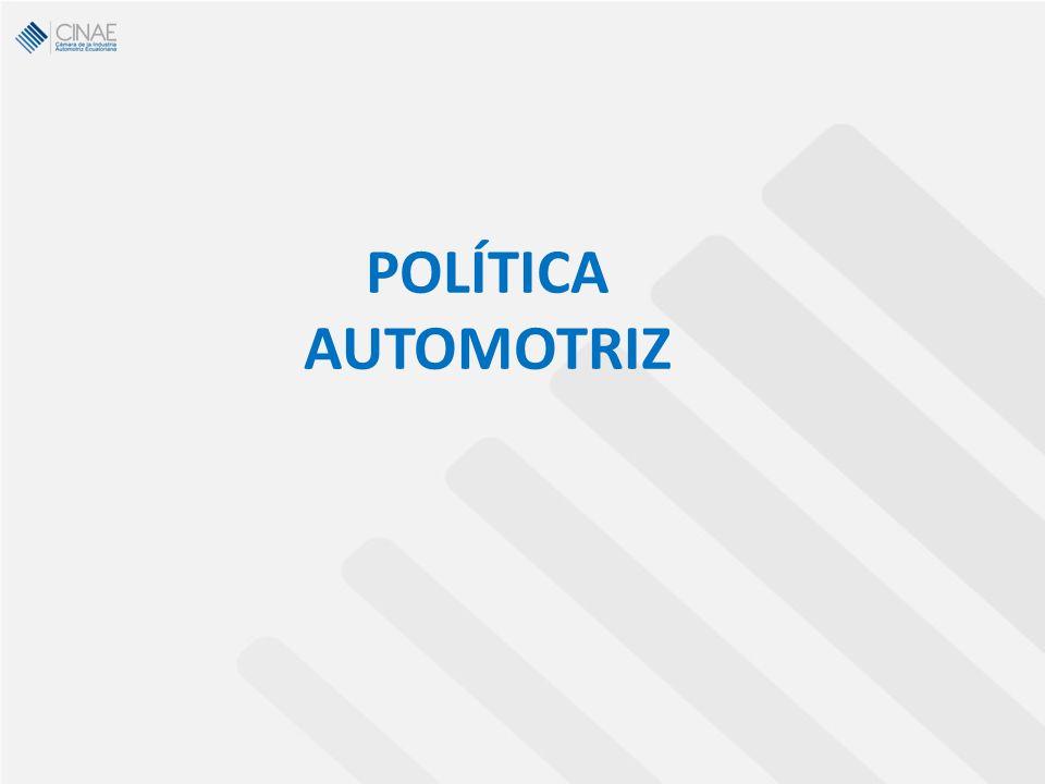 POLÍTICA AUTOMOTRIZ