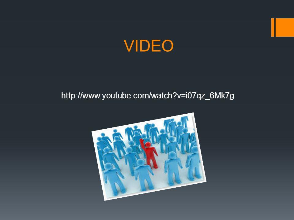 VIDEO http://www.youtube.com/watch v=i07qz_6Mk7g