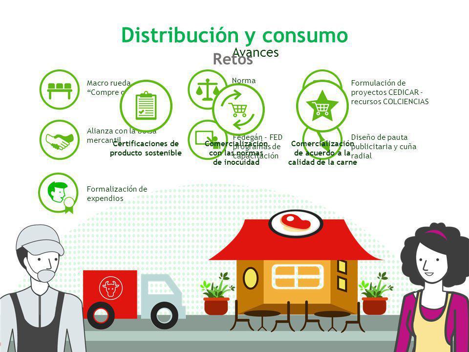 Distribución y consumo