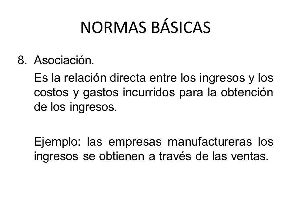 NORMAS BÁSICAS Asociación.
