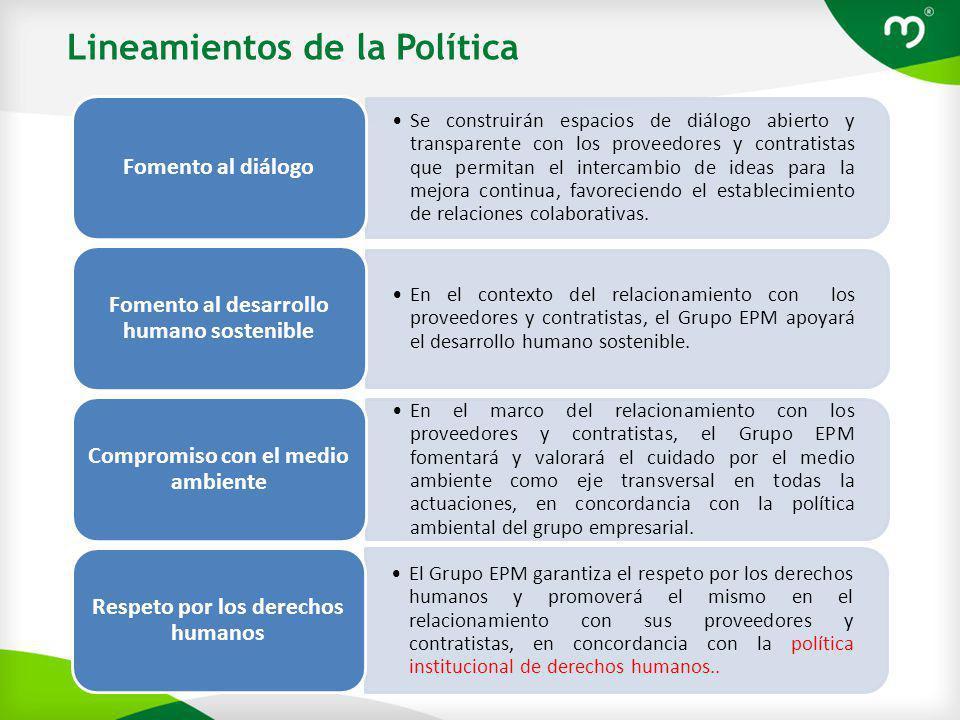 Lineamientos de la Política
