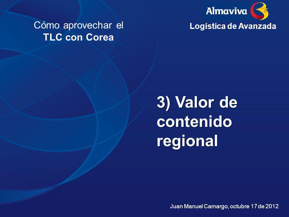 3) Valor de contenido regional