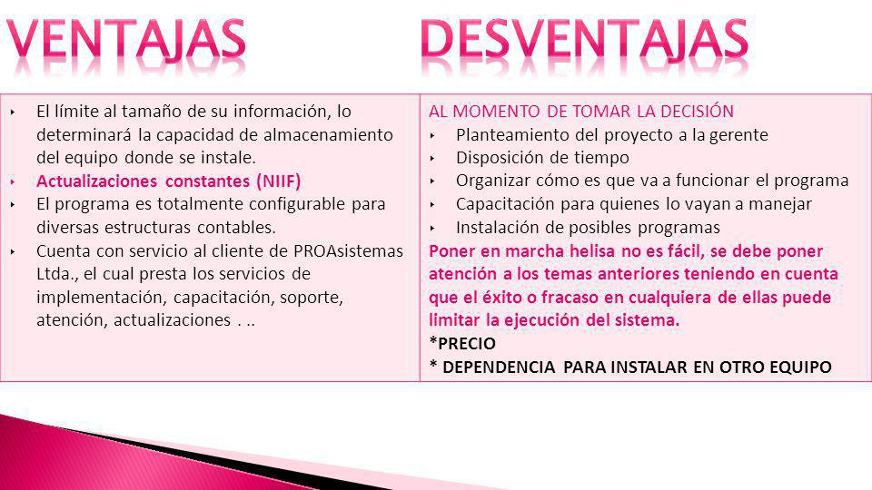 Software contable y de gesti n ppt descargar for Organizar oficina administrativa