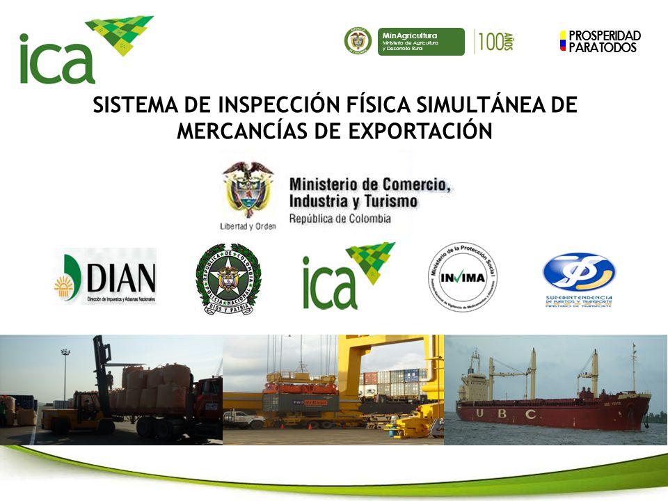 SISTEMA DE INSPECCIÓN FÍSICA SIMULTÁNEA DE MERCANCÍAS DE EXPORTACIÓN