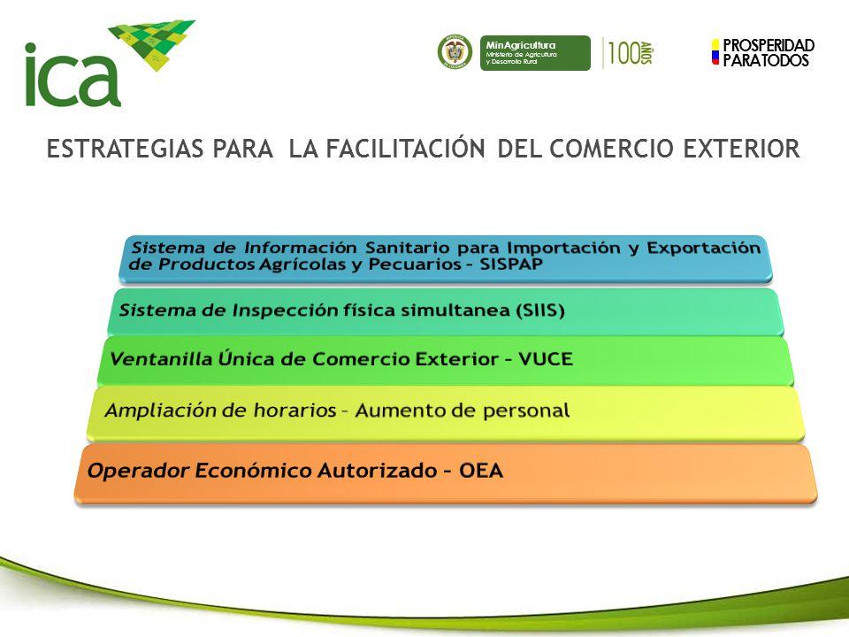 ESTRATEGIAS PARA LA FACILITACIÓN DEL COMERCIO EXTERIOR