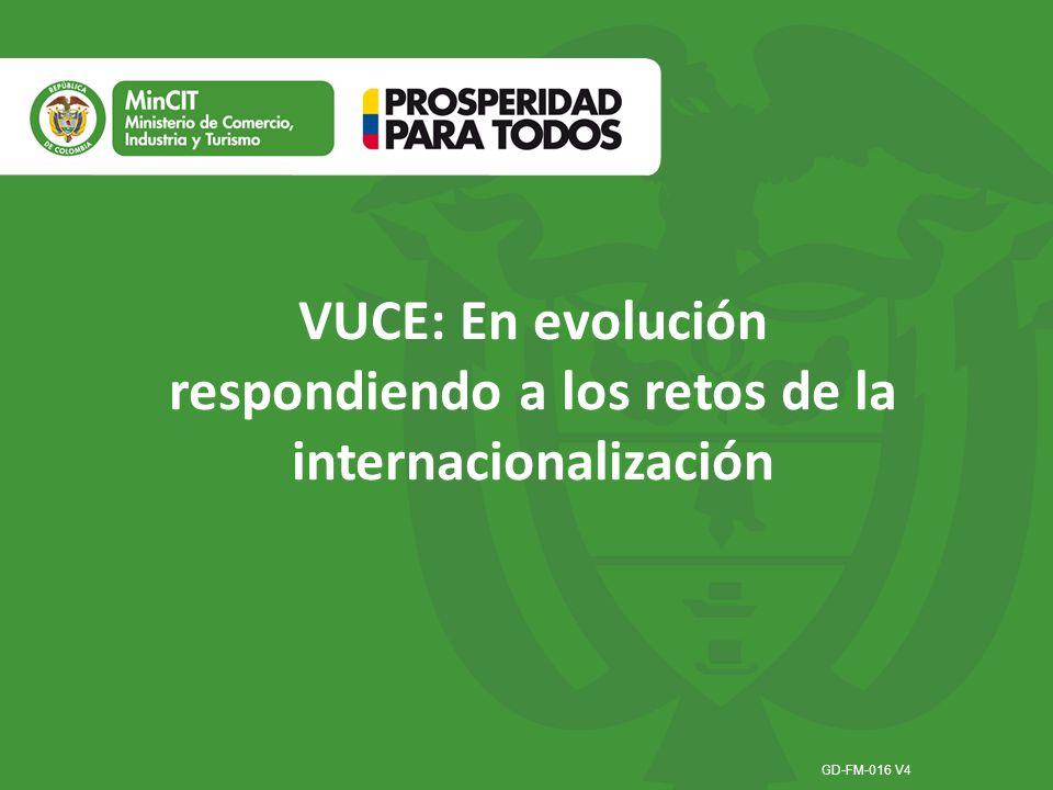 VUCE: En evolución respondiendo a los retos de la internacionalización