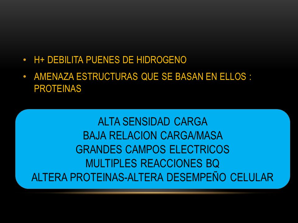 BAJA RELACION CARGA/MASA GRANDES CAMPOS ELECTRICOS