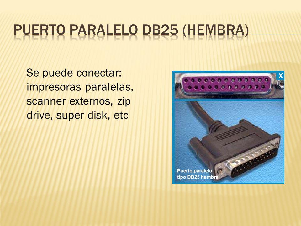 PUERTO PARALELO DB25 (hembra)