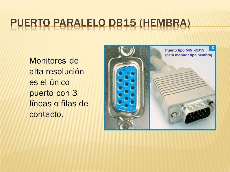 Puerto paralelo db15 (hembra)