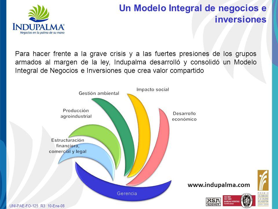 Producción agroindustrial Estructuración financiera, comercial y legal