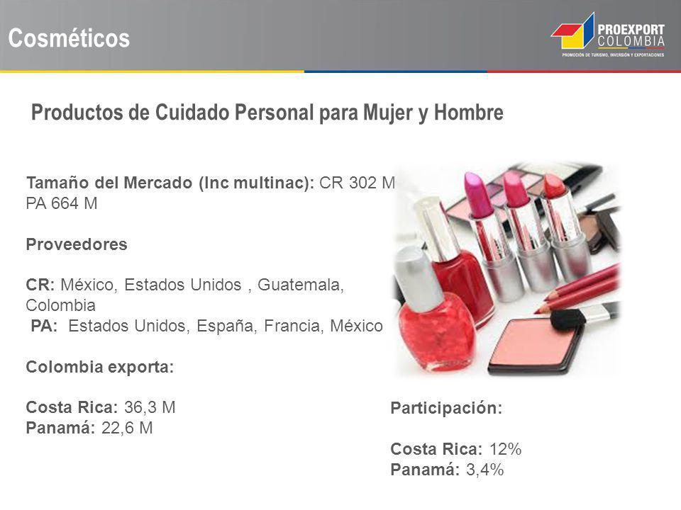 Cosméticos Productos de Cuidado Personal para Mujer y Hombre