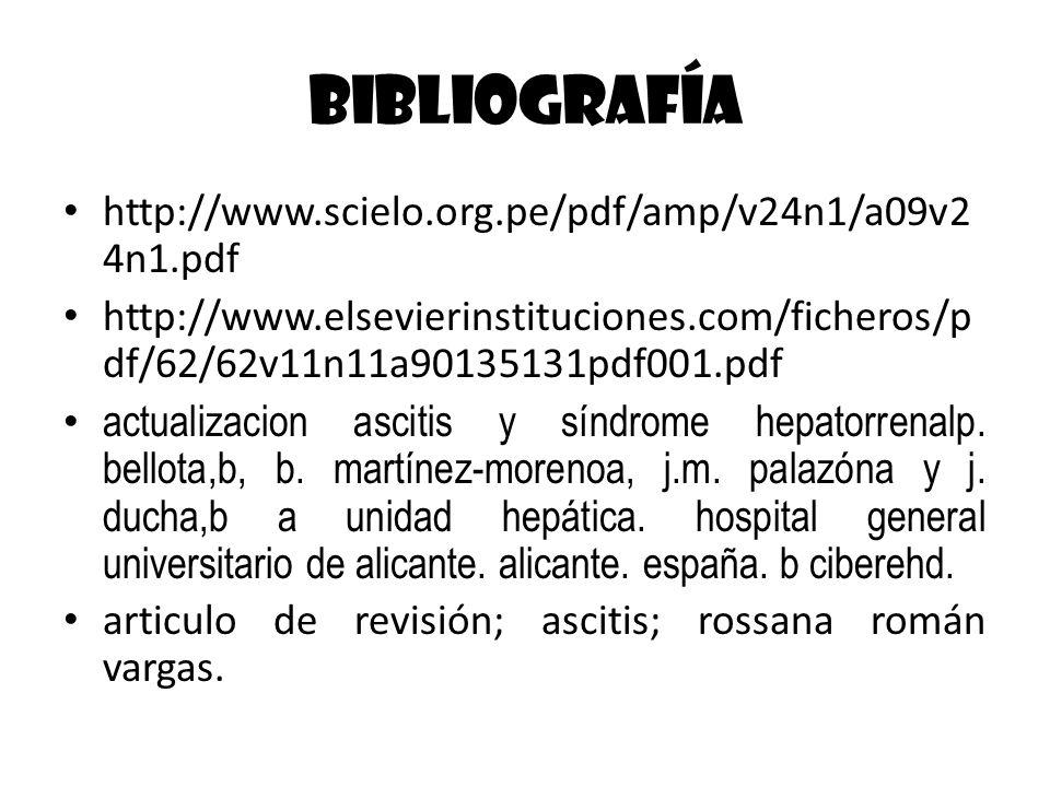 Bibliografía http://www.scielo.org.pe/pdf/amp/v24n1/a09v24n1.pdf
