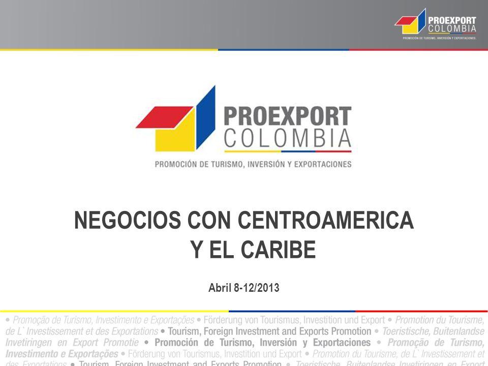 NEGOCIOS CON CENTROAMERICA Y EL CARIBE