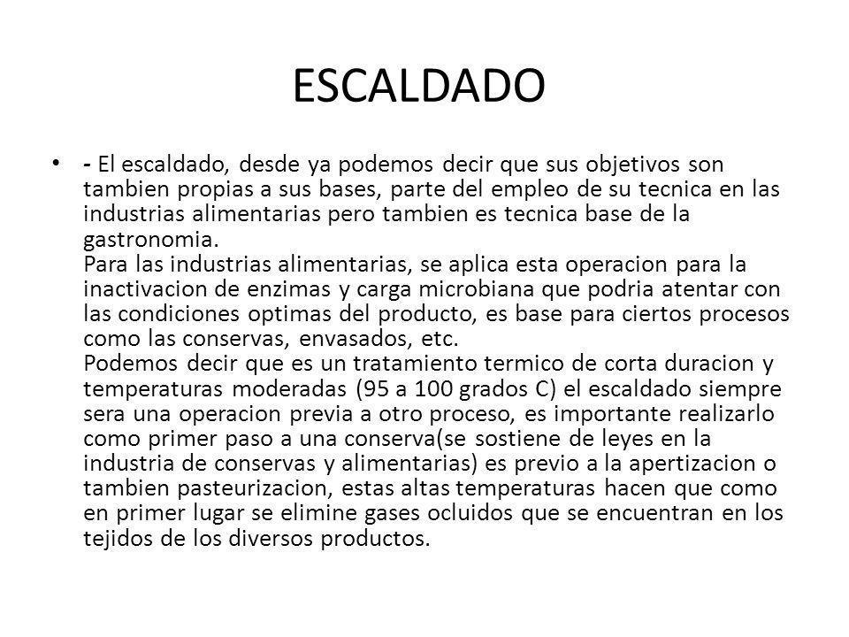ESCALDADO