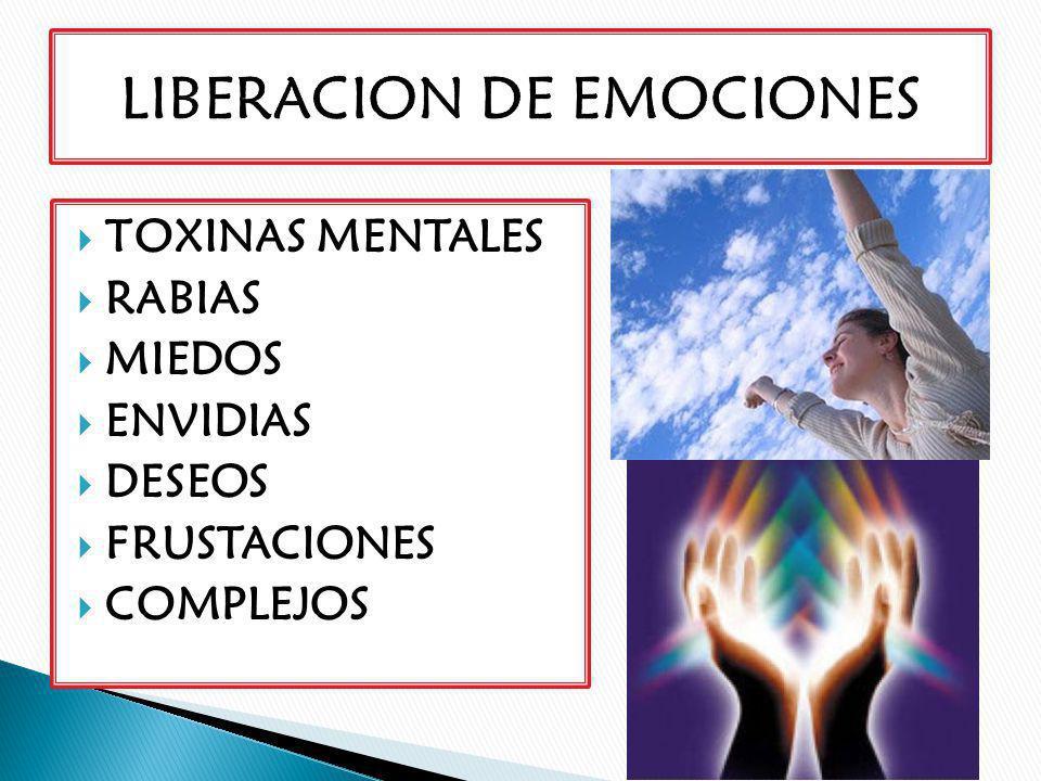 LIBERACION DE EMOCIONES