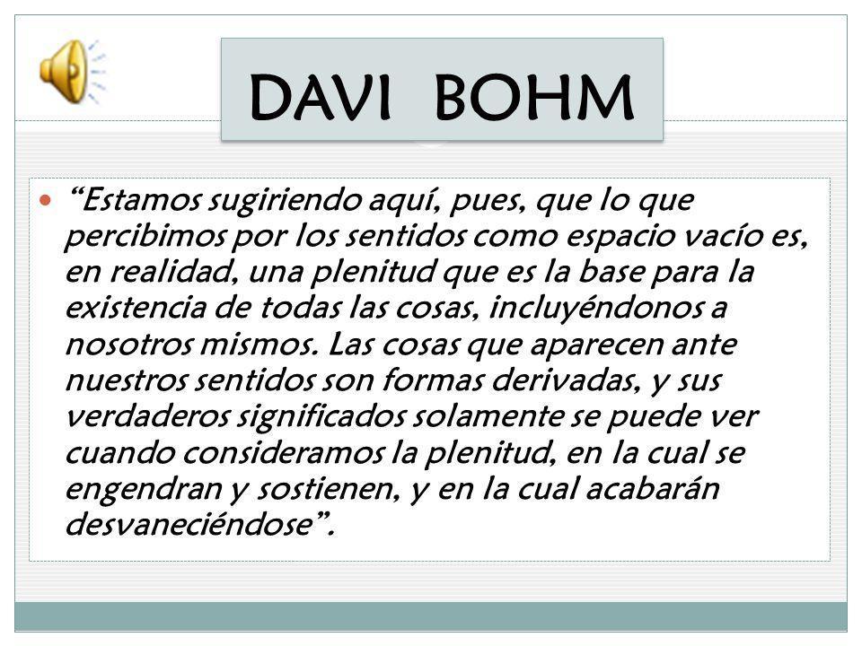DAVI BOHM