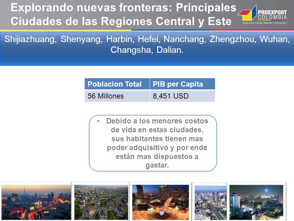 Explorando nuevas fronteras: Principales Ciudades de las Regiones Central y Este