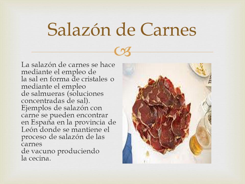 Salazón de Carnes