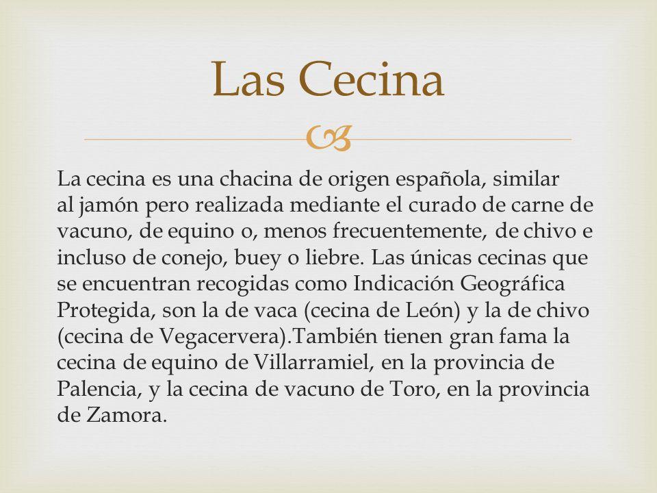 Las Cecina