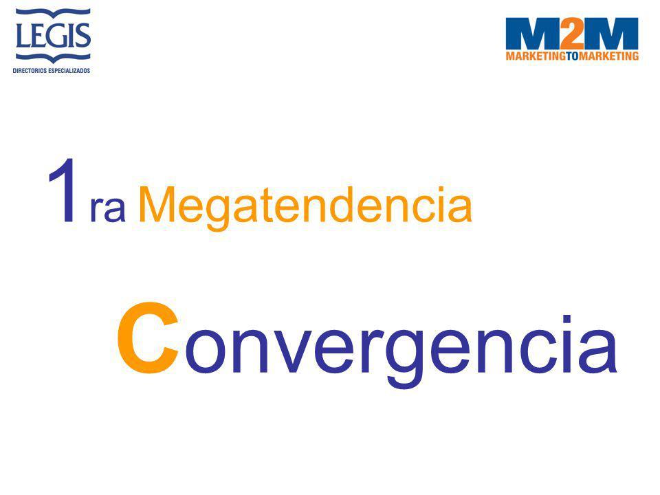 1ra Megatendencia Convergencia