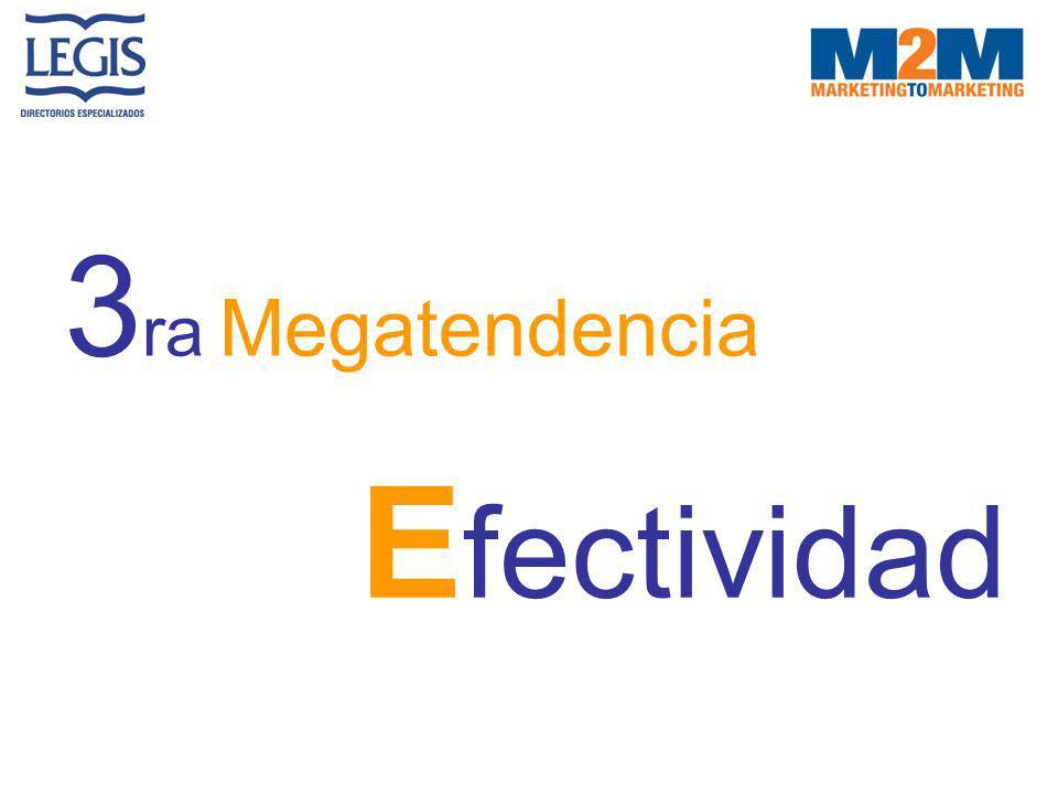 3ra Megatendencia Efectividad