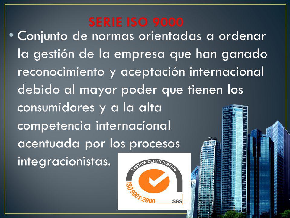 SERIE ISO 9000