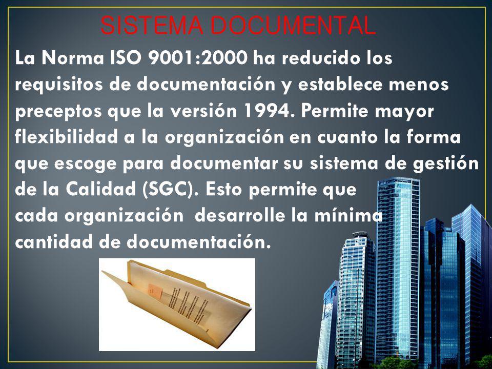 SISTEMA DOCUMENTAL