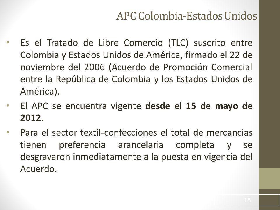 APC Colombia-Estados Unidos