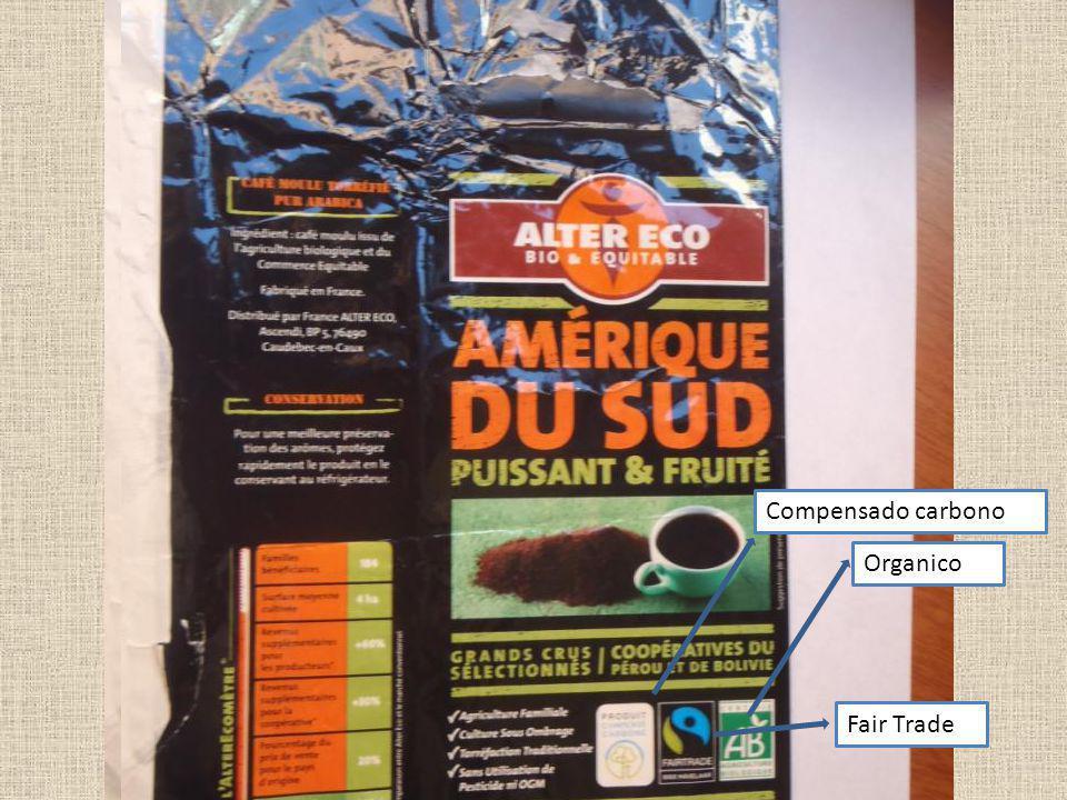 Compensado carbono Organico Fair Trade