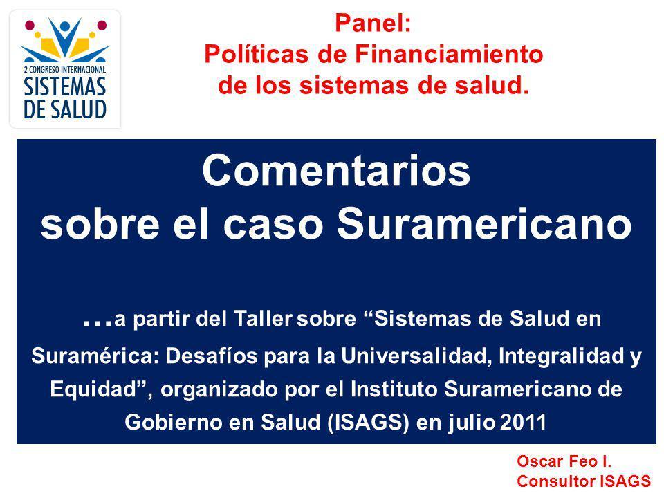Comentarios sobre el caso Suramericano